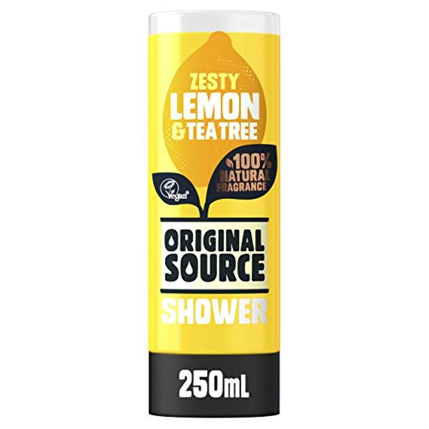 調子懐疑的洗練Cussons Lemon and Tea Tree Original Source Shower Gel by PZ CUSSONS (UK) LTD