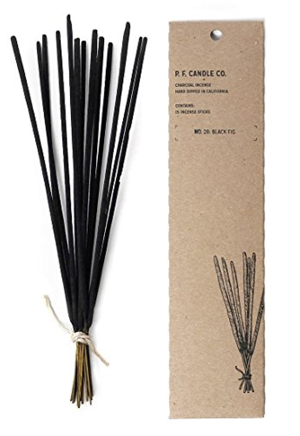 肥料唇病なp.f. Candle Co。No。28 :ブラックFig Incense ( 2 - Pack )