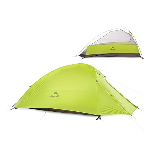 NatureHike 1人アウトドアテント超軽量キャンプテントポータブルテント