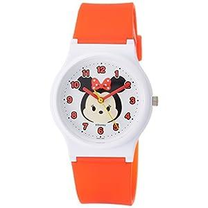 [シチズン キューアンドキュー]CITIZEN Q&Q 腕時計 ディズニー コレクション TSUMTSUM ミニーマウス ウレタンベルト レッド HW00-002 ガールズ