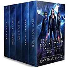The Complete Vampire Project Series: (Books 1 - 5)