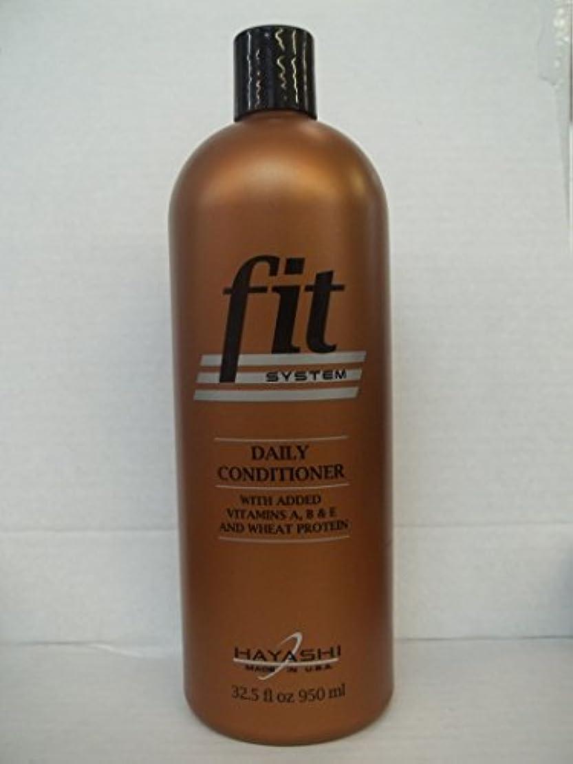 バタフライ密度ゲートHayashi システムデイリーコンディショナーフィット - 32.5オンス/リットル 32.5フロリダ。オズ。林フィットデイリーコンディショナーのボトル 銅ボトル