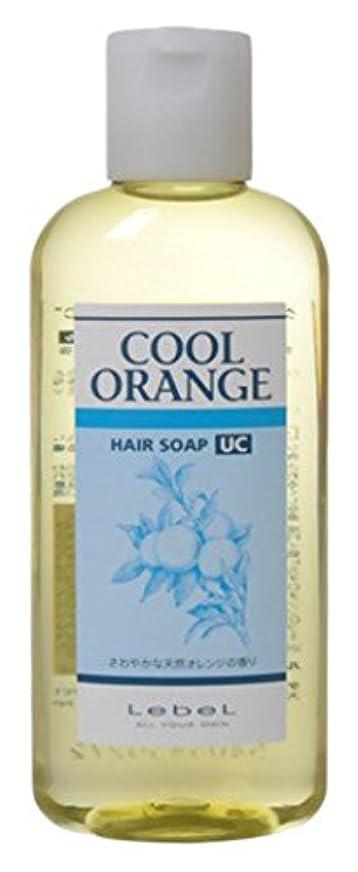 冷蔵庫スーツ印刷するルベル クールオレンジヘアソープ UC 200ml