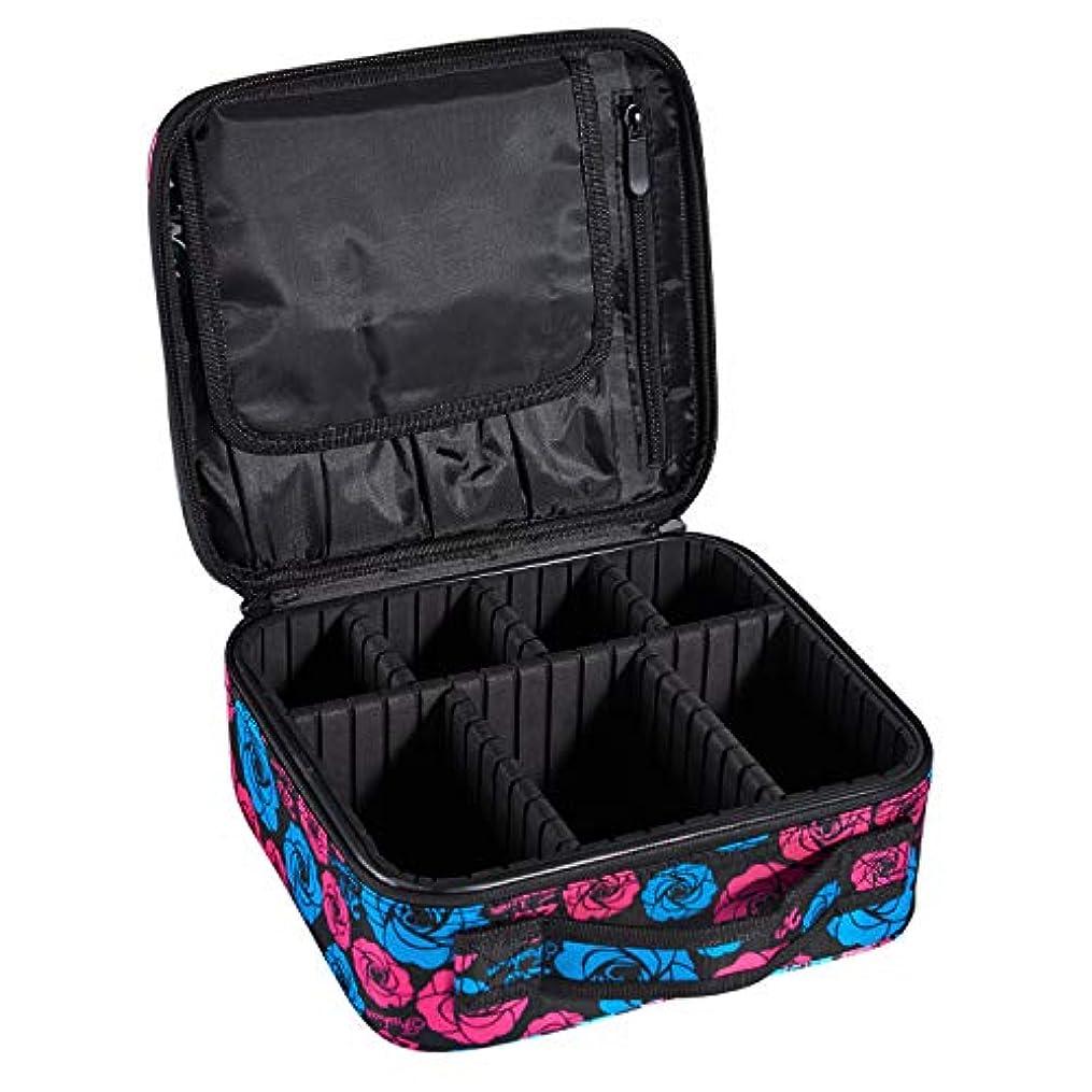 子孫静かな法律によりArcEnCiel プロ用 メイクボックス メイクブラシ 化粧道具 小物収納 大容量 化粧箱