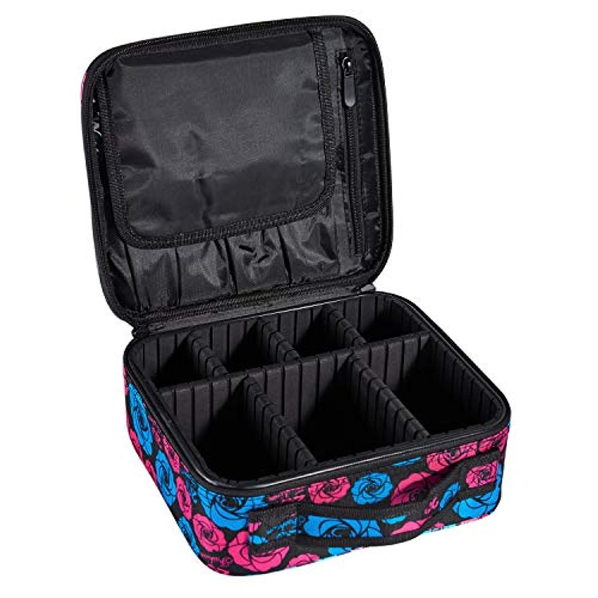 失マーティンルーサーキングジュニア副産物ArcEnCiel プロ用 メイクボックス メイクブラシ 化粧道具 小物収納 大容量 化粧箱