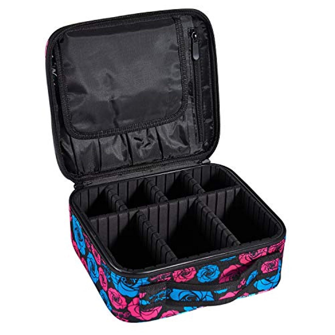 ArcEnCiel プロ用 メイクボックス メイクブラシ 化粧道具 小物収納 大容量 化粧箱