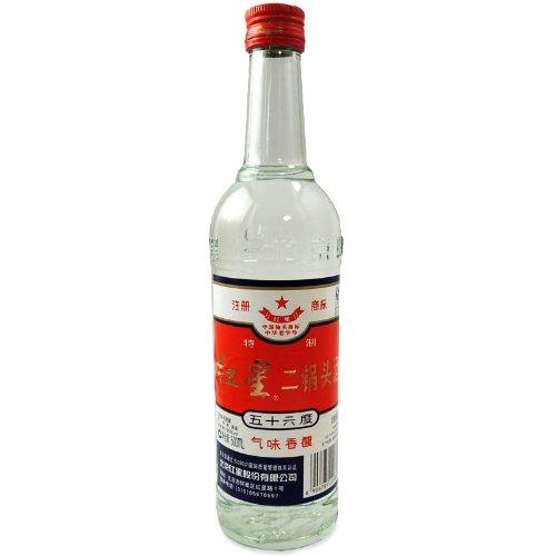 特制 紅星  二鍋頭酒(アルコードシュ) 56度 500ml入り