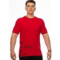 Tipsy Koala Men's Printed Cotton T Shirt