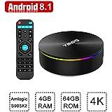 Android KODI Smart TV Box T95Q 4K HD WiFi Quad-Core 4G+64G 3D Media Player 2019