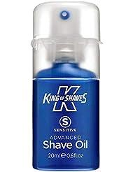King of Shaves キングオブシェーブ シェービングオイル 20ml