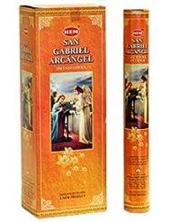 裾San Gabriel Arcangel Incense 6 Hexagon 20のパック= 120 Sticks