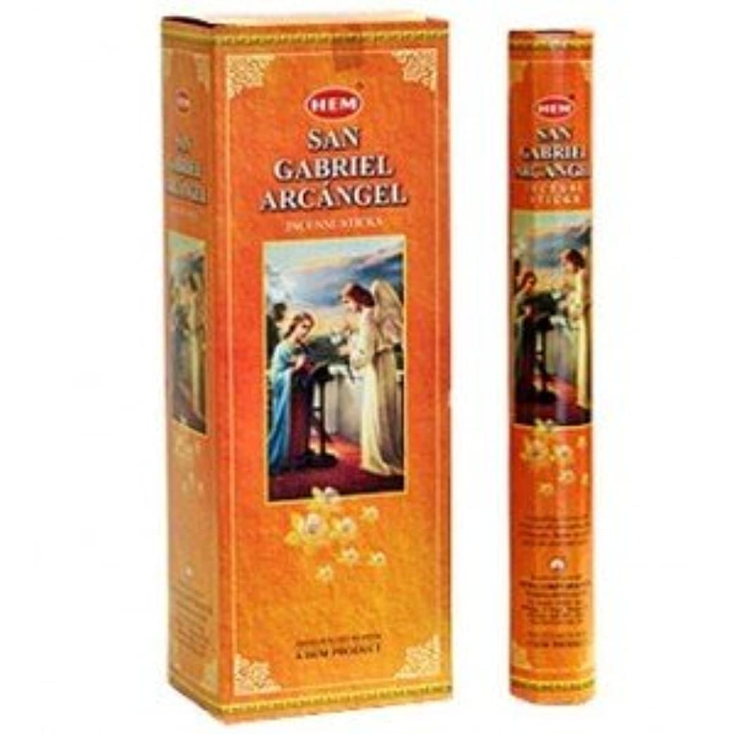 どきどき精神ボクシング裾San Gabriel Arcangel Incense 6 Hexagon 20のパック= 120 Sticks