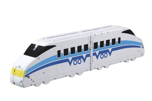 VooV(ブーブ) VB01 超BIG変身!! パトカー 〜 トレイン