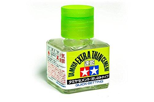メイクアップ材シリーズ No.182 タミヤセメント (流し込みタイプ) 速乾
