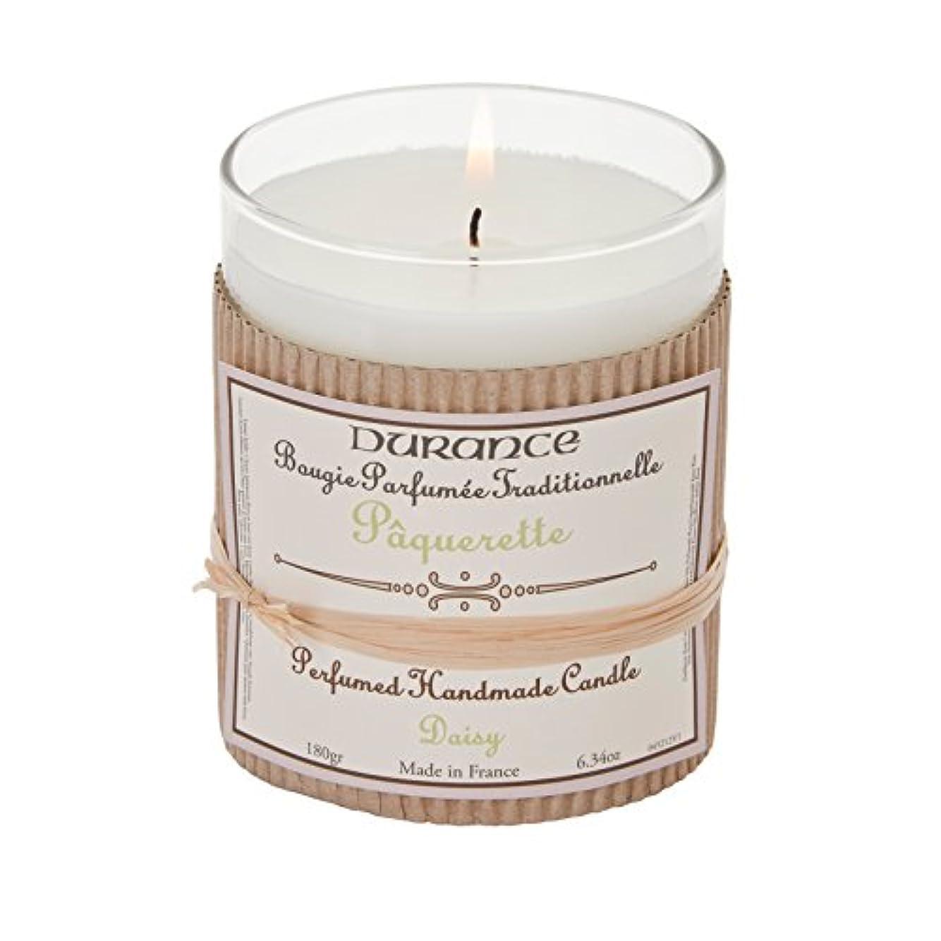 平らにするあらゆる種類のダニDurance De Provence Hand Crafted Scented Candle - Daisy