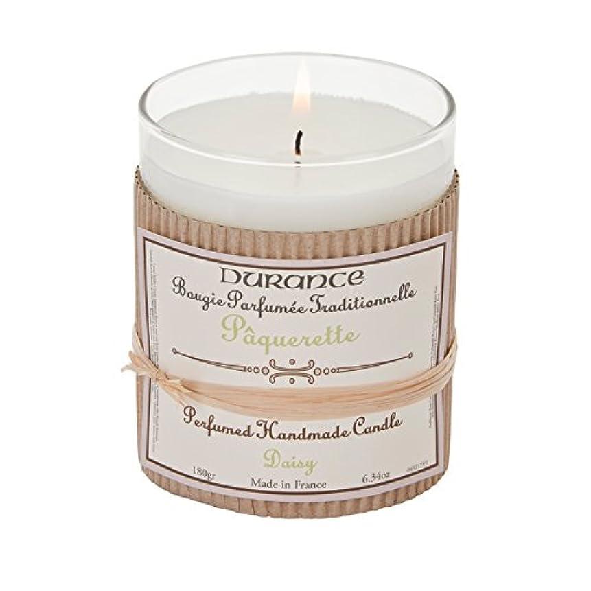 眉をひそめるクリークマーカーDurance De Provence Hand Crafted Scented Candle - Daisy