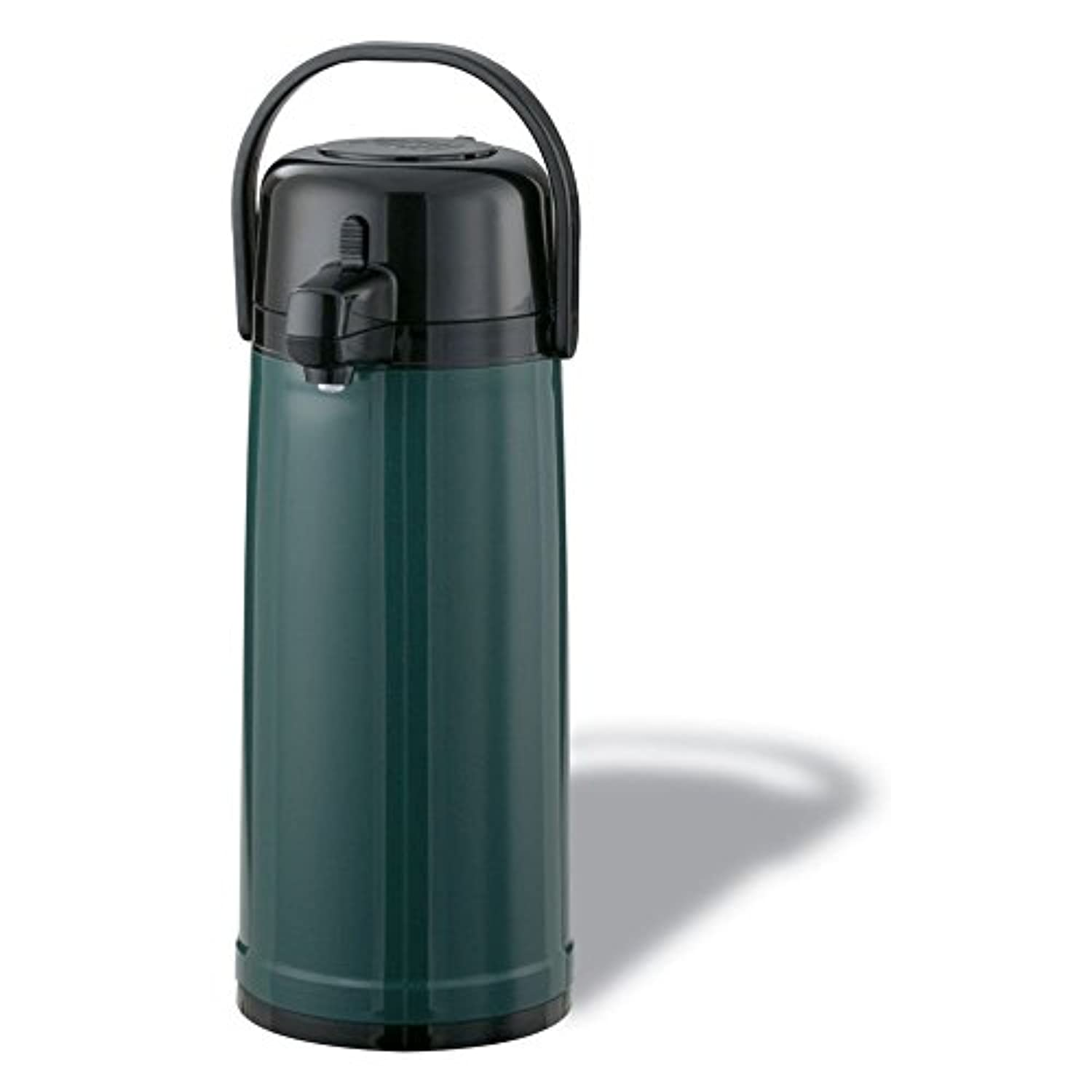Service Ideas ECAS22S Eco-Air Airpot with Pump, Stainless Steel Lined, 2.4 L [並行輸入品]