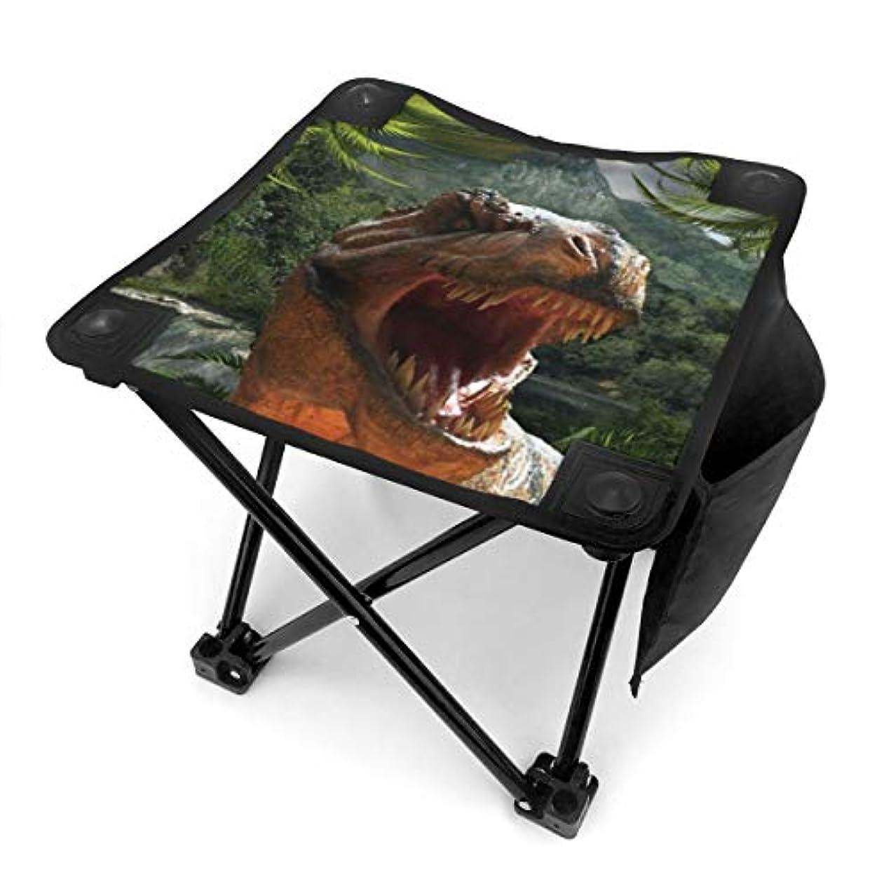 冷える綺麗な集団的折りたたみ椅子 ティラノサウルス?レックス アウトドアチェア 収納バッグ付き アウトドアチェア 折り畳み式 椅子 折りたたみ コンパト椅子 キャンプスツール 携帯便利 旅行用/お釣り/キャンプ/アウトドアなど対応