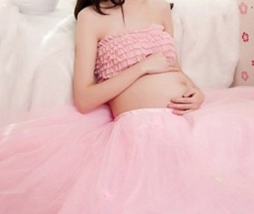 [No-brand goods] Maternity photo dress up and down two points set costume photography Sunny Corner