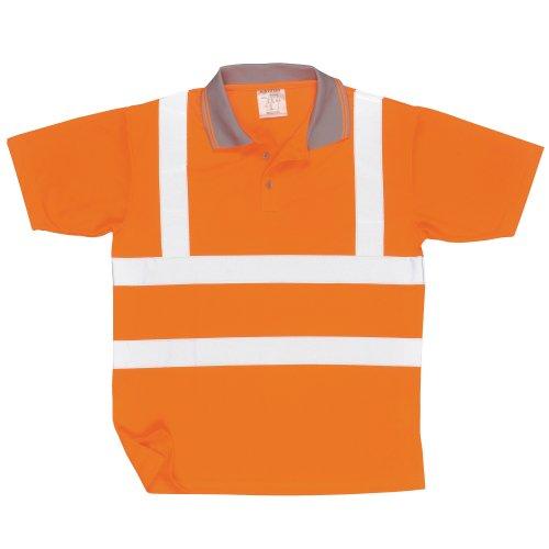 [해외](포트 웨스트) Portwest 남여 야광 | 형광 | 반사 작업 반팔 티셔츠 야광 안전 폴로 안전 설비 남녀 공용/(Port West) Portwest Unisex night light | fluorescent | light reflection work short sleeve polo shirt night light safety polo shirt ...