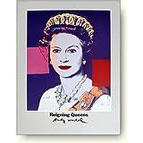 アンディ ウォーホル 統治する女王1985年(エリザベス女王) アートポスター