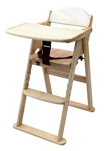 カトージ 木製ハイチェア cena ステップ切り替え (ナチュラル) 22405