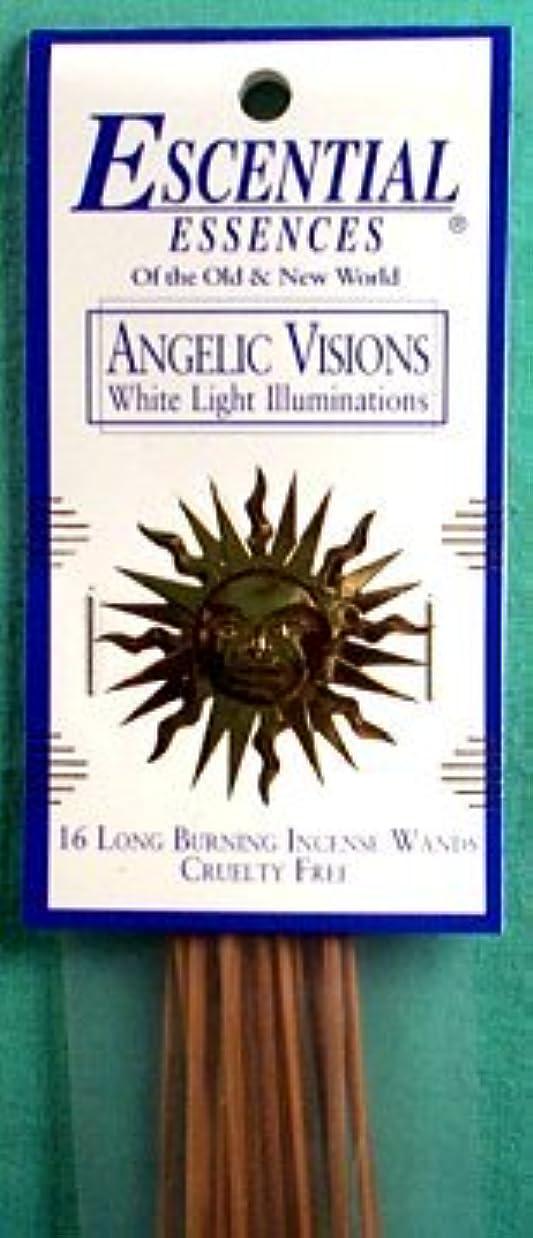 ひねりバリケードに同意するAngelic Visions Escential Essences Incense Sticks