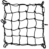 Super Strong Stretch Heavy-duty 15 Cargo Net for Motorcycle ATV - Stretches to 45