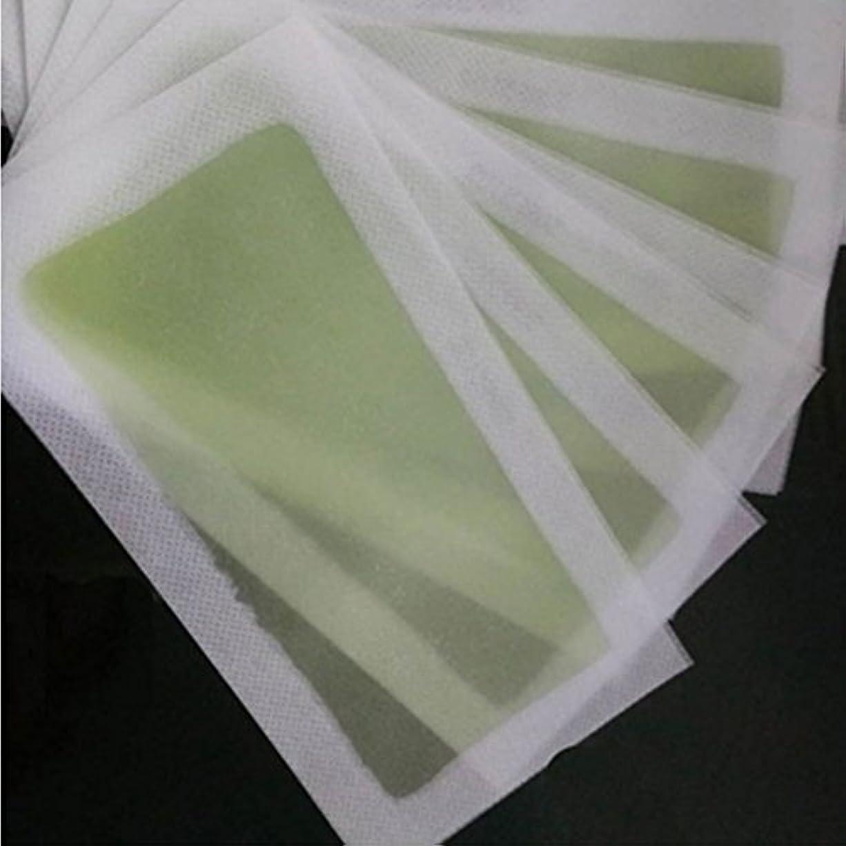 タイプゴミ箱インシデントMSmask プロ品質 ワックスは、美容ストリップ 両面シート脱毛シート 脱毛ワックスがけブロー用