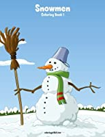 Snowmen Coloring Book