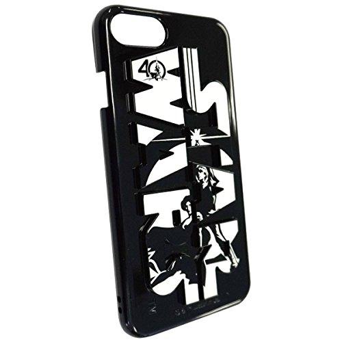 グルマンディーズ 〈STAR WARS 40th Anniversary〉 iPhone7対応 3Dハードケース モノクローム stw-65e