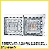 日本ボデーパーツ工業 JB角型LEDテールランプ2連 JB JBPRO NBI