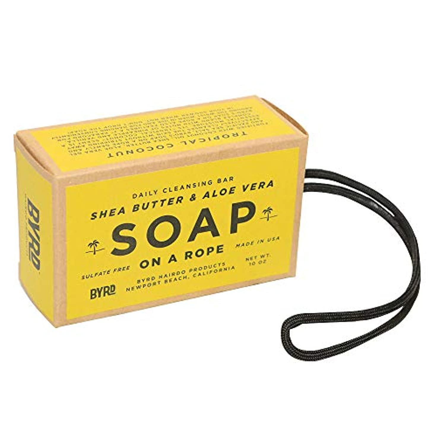 誤解させるスポンジオゾンBYRD バード SOAP ON A ROPE ソープオンアロープ 石けん #2096989