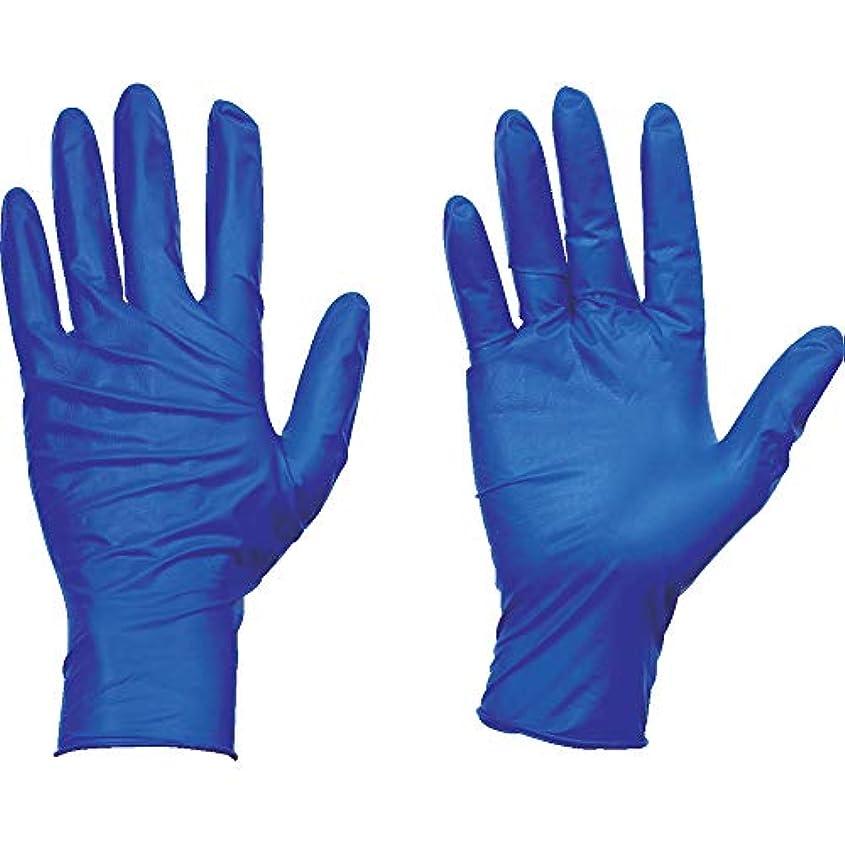 自治的サーバ提供するTRUSCO(トラスコ) 使い捨て天然ゴム手袋TGセーフ 0.12 粉無青S 100枚 TGNL12BS