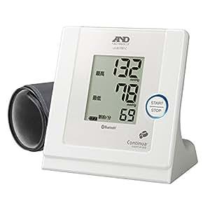 A&D iPhone/iPadにBluetoothでつながる家庭用血圧計 UA-851PBT-C-W
