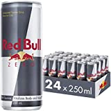 Red Bull Energy Drink Zero Calories 24 Pack of 250 ml