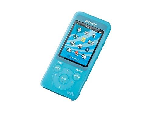 ソニー SONY ウォークマン純正シリコンケース CKM-NWS780 : NW-S10/S780/E080シリーズ専用 ブルー CKM-NWS780 L