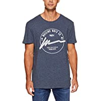 Mossimo Men's Game Changer Crew TEE, Midnight Ink Marle