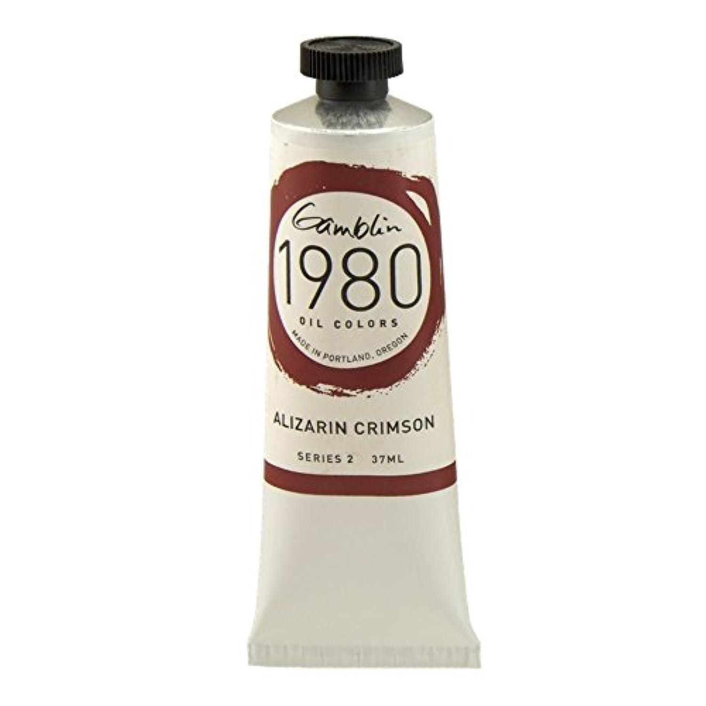 Gamblin 1980 Oil Alizarin Crimson 150Ml by Gamblin
