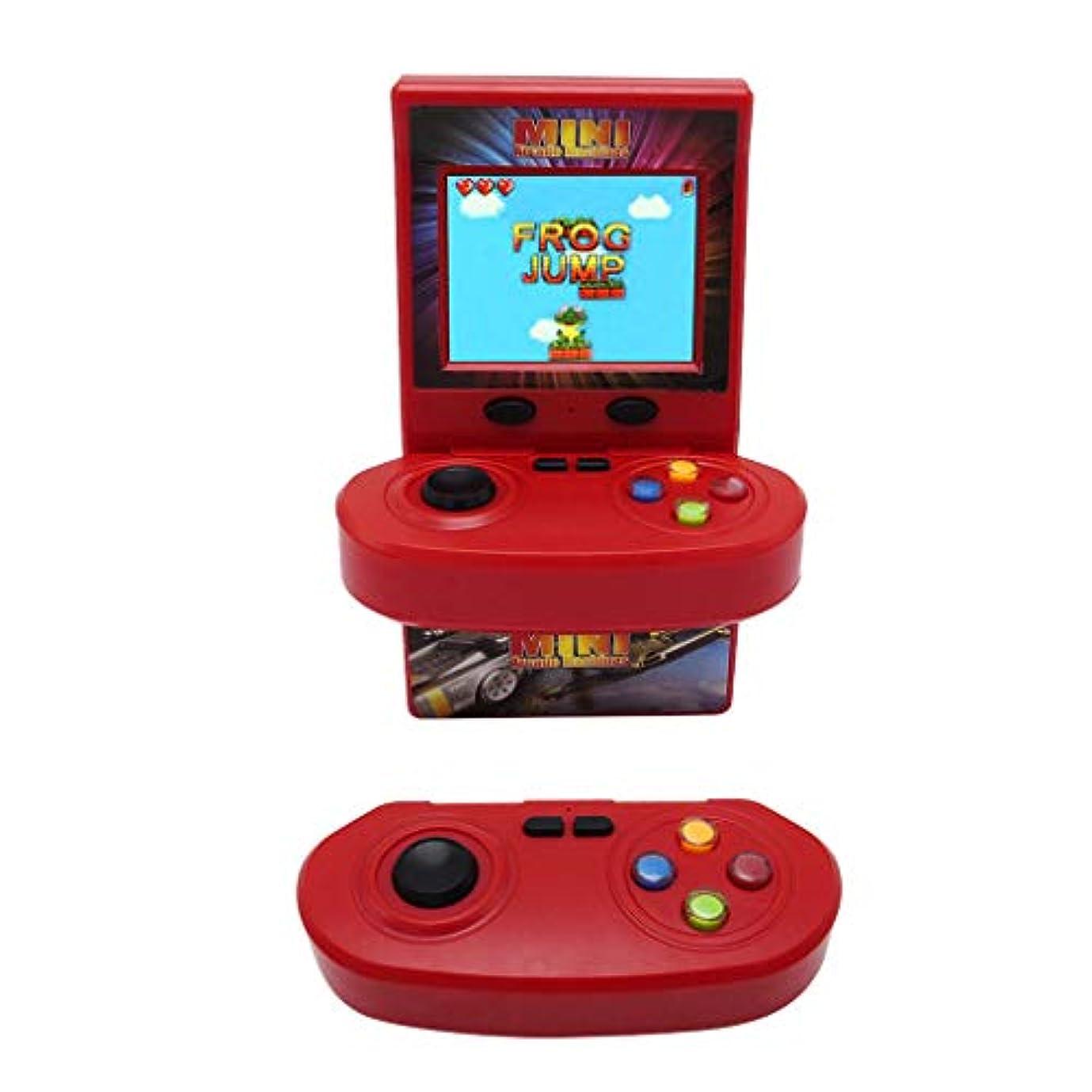 神社戦艦口径ゲームコンソール ダブルワイヤレスジョイスティック アーケードゲーム コンソール ノスタルジック 100ゲーム ゲームプレーヤー ダブルハンドル 携帯ゲーム機huajuan