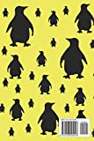 Penguin Notes: Cute Yellow and Black Penguin Pattern 6
