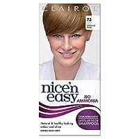 [Nice'n Easy] Nice'N簡単に無アンモニア染毛剤中の灰ブロンド73 - Nice'n Easy No Ammonia Hair Dye Medium Ash Blonde 73 [並行輸入品]