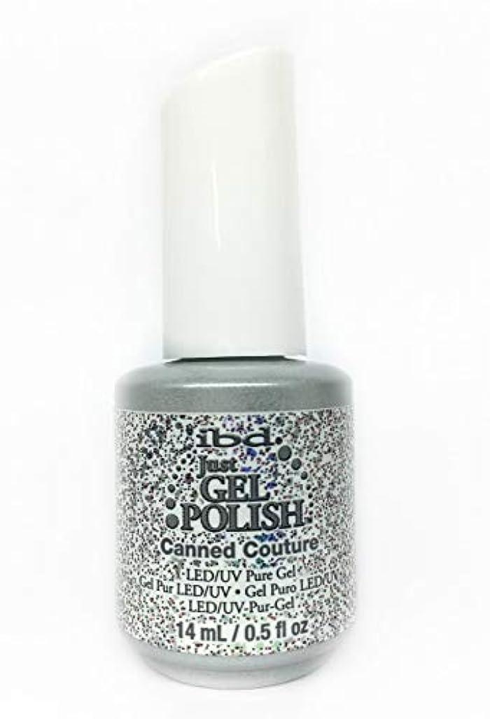高潔な人工的な精神的にibd Just Gel Nail Polish - Canned Couture - 14ml / 0.5oz