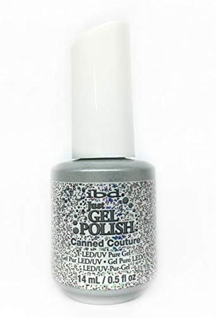 スリップアプローチいつでもibd Just Gel Nail Polish - Canned Couture - 14ml / 0.5oz