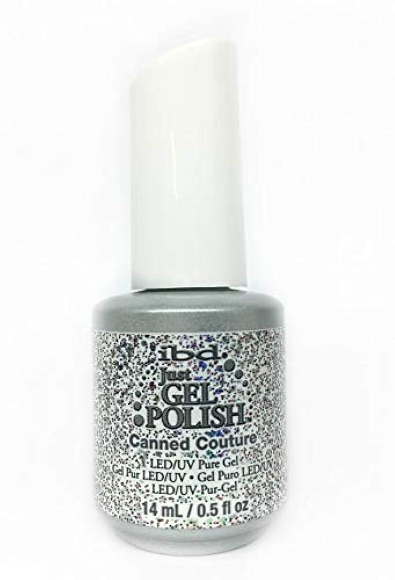 シャワー危険怠なibd Just Gel Nail Polish - Canned Couture - 14ml / 0.5oz