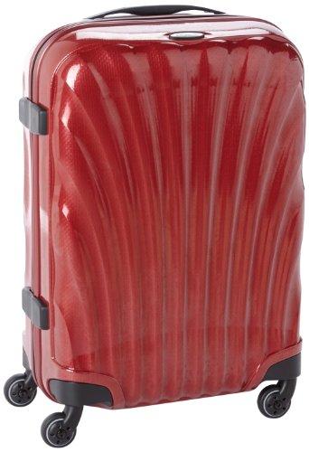 [サムソナイト] Samsonite COSMOLITE / コスモライト スピナー 55  (55cm/36L/1.8Kg) (スーツケース・キャリーケース・トラベルバッグ・TSAロック装備・軽量・大容量・機内持込・ファスナー・10年保証付・リニューアルタイプ) V22*00102 00 (レッド)