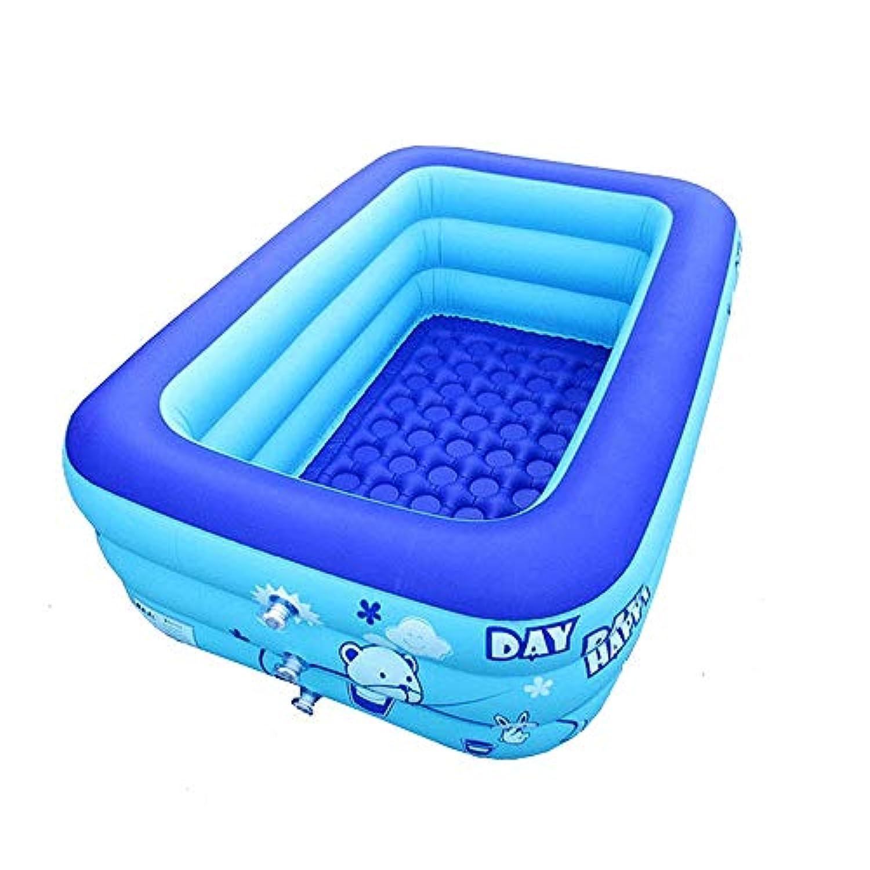 3階建てのプールの子供の浴槽の浴槽の赤ん坊の膨脹可能なプール家庭用大人のために適した子供のおもちゃのプール(115 * 75 * 35 Cm)