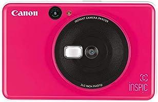 Canon CV-123A iNSPiC [C] Series Instant Camera Printer, Bubble Gum Pink