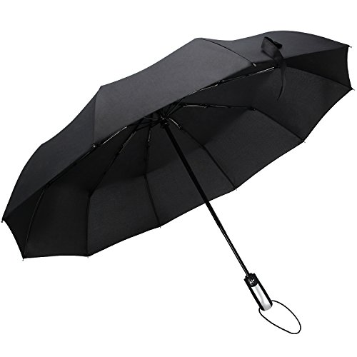 NOKOKADO 折りたたみ傘 ワンタッチ自動開閉 コンパクト 10本傘骨 軽量 耐強風 晴雨兼用