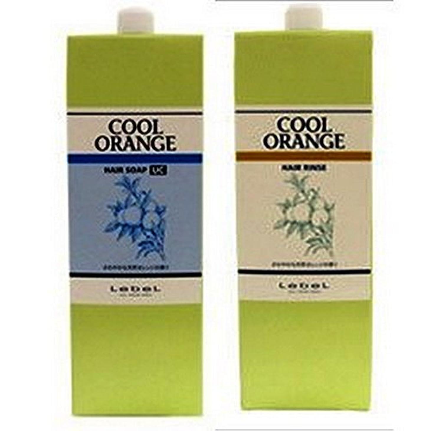 驚かすロンドン海藻Lebel ルベル クールオレンジヘアソープ ウルトラクール1600ml ヘアリンス1600ml 2本セット